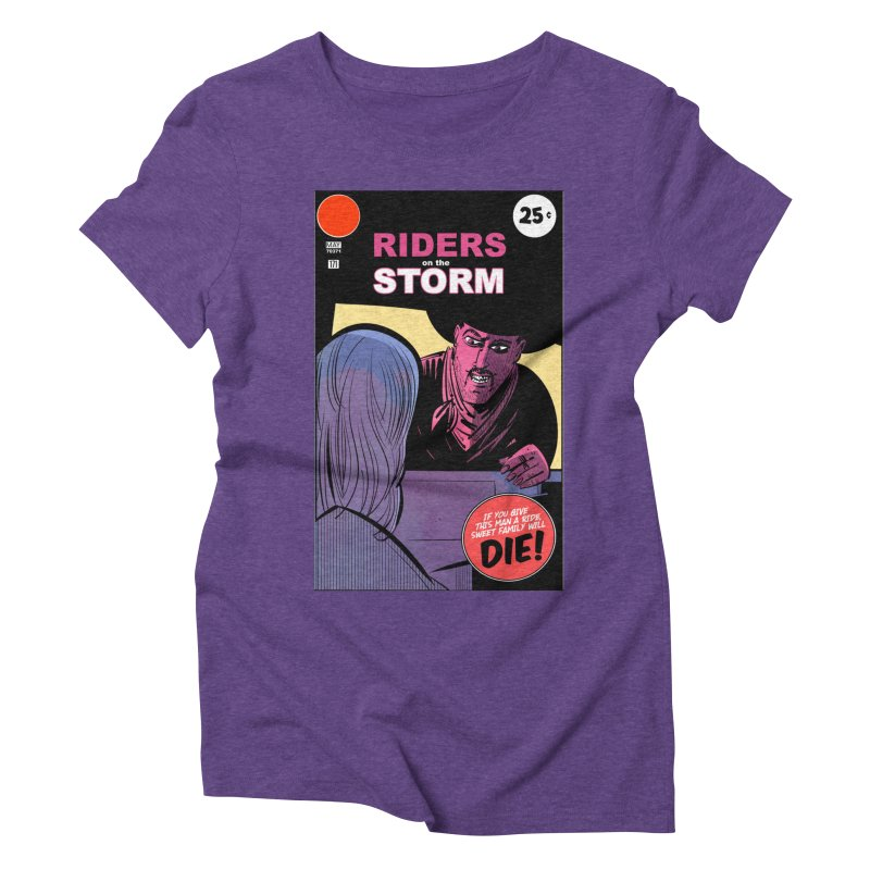 Storm Riders Women's Triblend T-Shirt by Krishna Designs