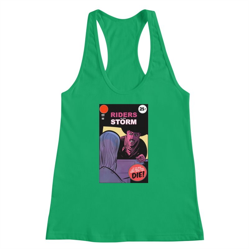 Storm Riders Women's Racerback Tank by Krishna Designs
