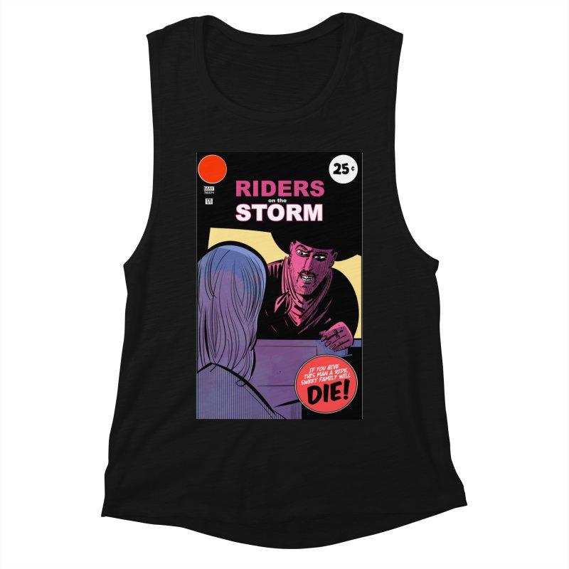 Storm Riders Women's Muscle Tank by Krishna Designs