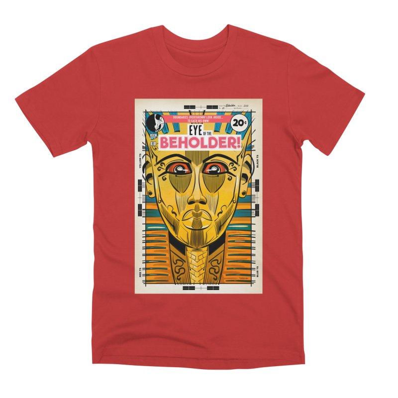 Beholder Men's Premium T-Shirt by Krishna Designs