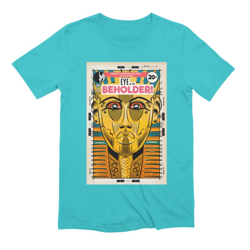 Beholder Men's Extra Soft T-Shirt by Krishna Designs