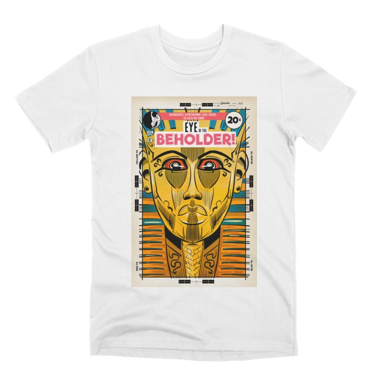 Beholder Men's Premium T-Shirt by Krishna Designs