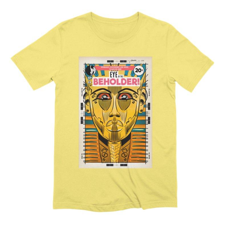 Beholder Men's Extra Soft T-Shirt by Krishna Designs