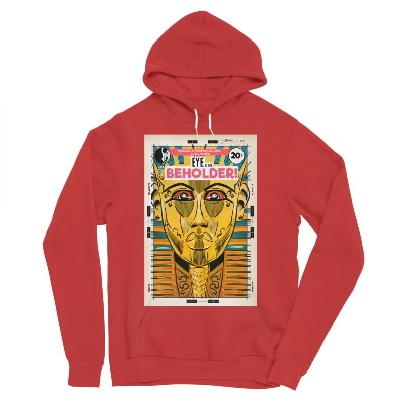 Beholder Men's Pullover Hoody by Krishna Designs
