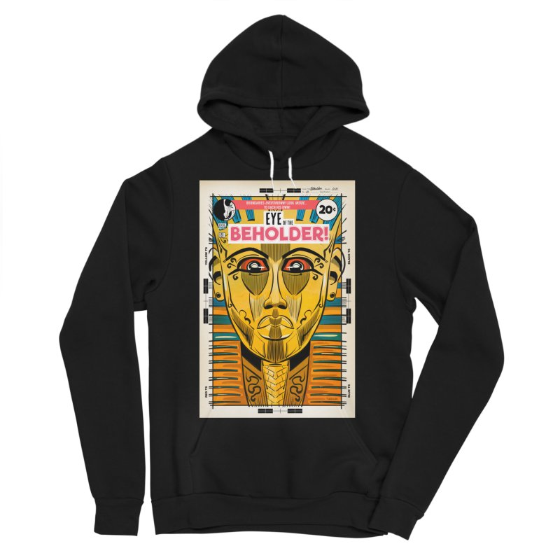Beholder Men's Sponge Fleece Pullover Hoody by Krishna Designs
