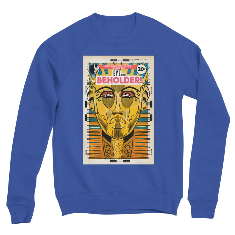 Beholder Men's Sweatshirt by Krishna Designs