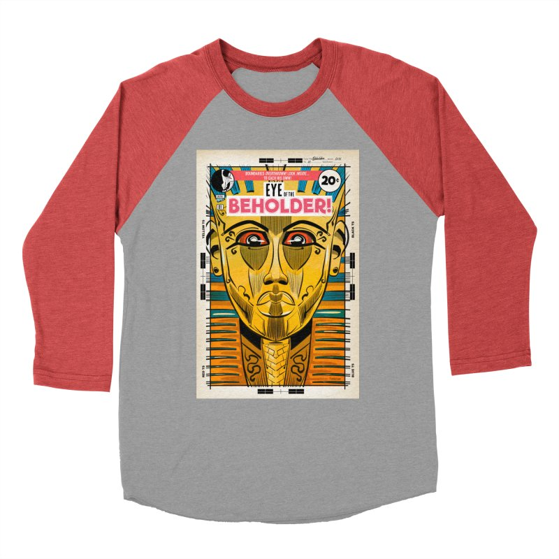 Beholder Men's Longsleeve T-Shirt by Krishna Designs