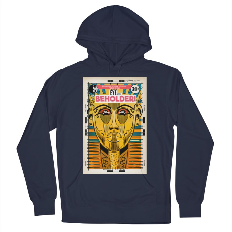 Beholder Women's French Terry Pullover Hoody by Krishna Designs