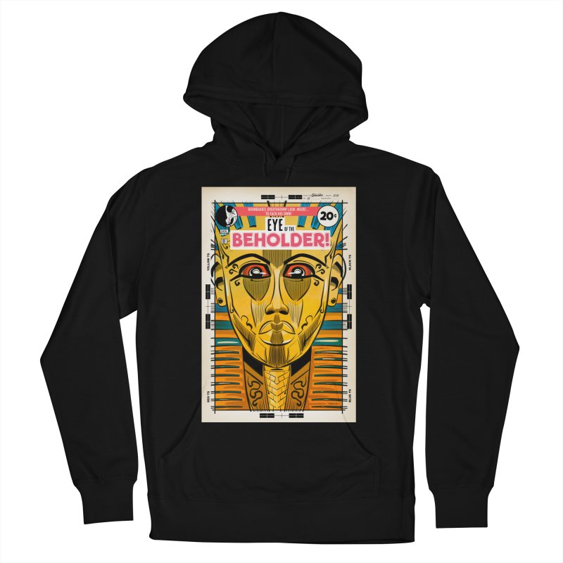 Beholder Men's French Terry Pullover Hoody by Krishna Designs
