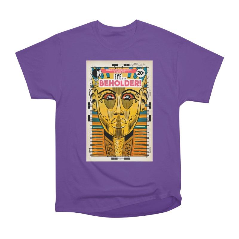 Beholder Men's Heavyweight T-Shirt by Krishna Designs
