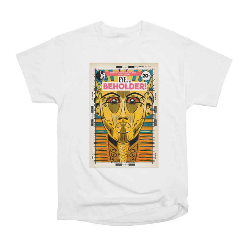 Beholder Women's Heavyweight Unisex T-Shirt by Krishna Designs