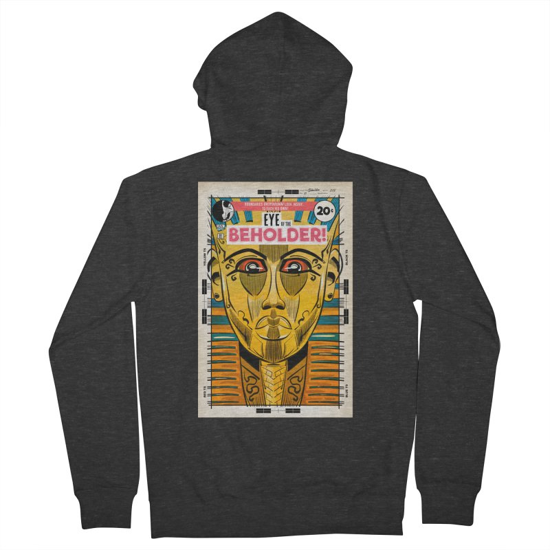 Beholder Men's French Terry Zip-Up Hoody by Krishna Designs