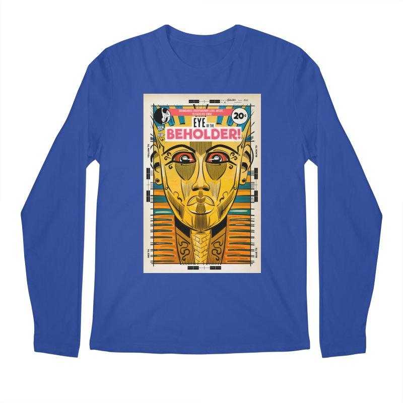 Beholder Men's Regular Longsleeve T-Shirt by Krishna Designs
