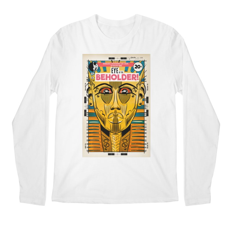 Beholder Men's Regular Longsleeve T-Shirt by Krishna Designs