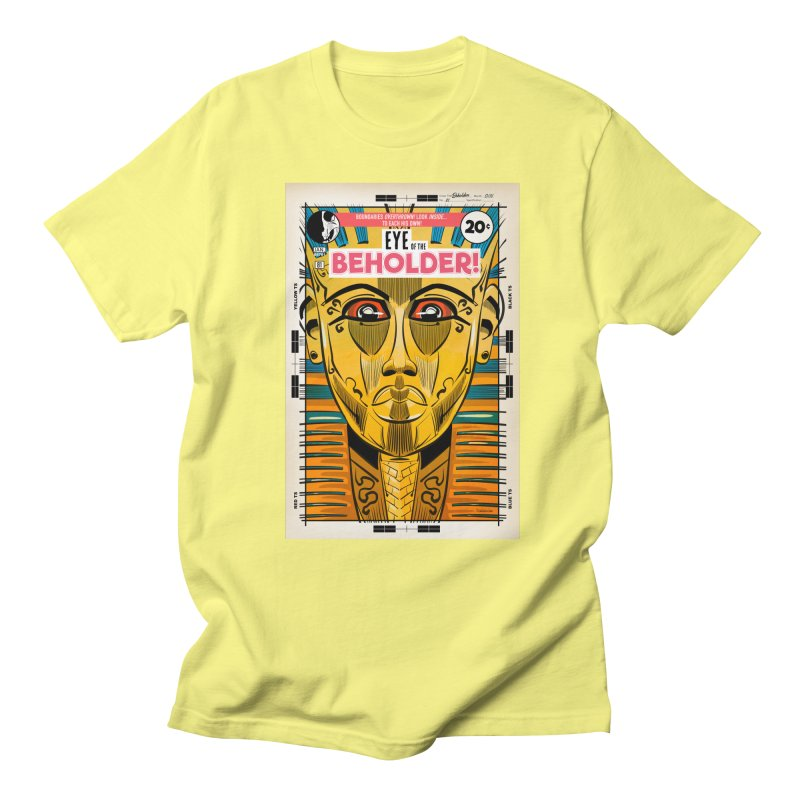 Beholder Women's Regular Unisex T-Shirt by Krishna Designs