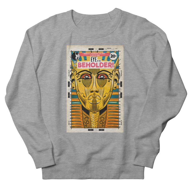 Beholder Women's French Terry Sweatshirt by Krishna Designs