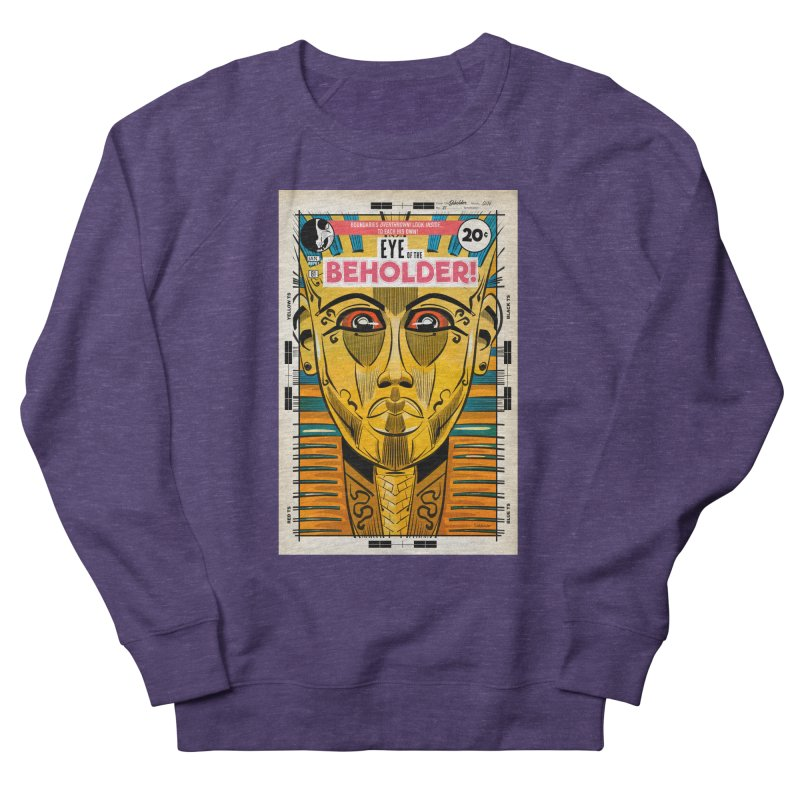 Beholder Men's French Terry Sweatshirt by Krishna Designs