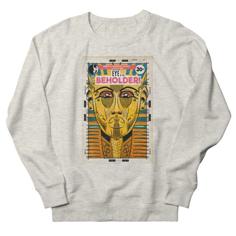 Beholder Men's French Terry Sweatshirt by Krishna Designs