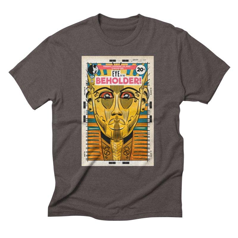 Beholder Men's Triblend T-Shirt by Krishna Designs