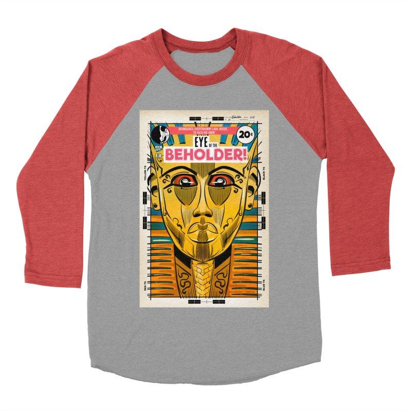 Beholder Men's Longsleeve T-Shirt by Krishna Designs
