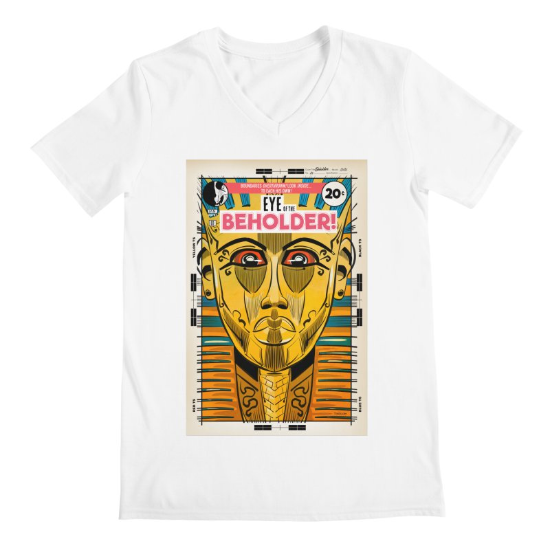 Beholder Men's V-Neck by Krishna Designs