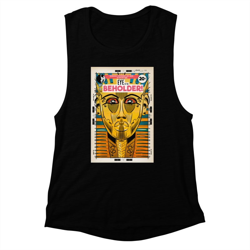 Beholder Women's Tank by Krishna Designs