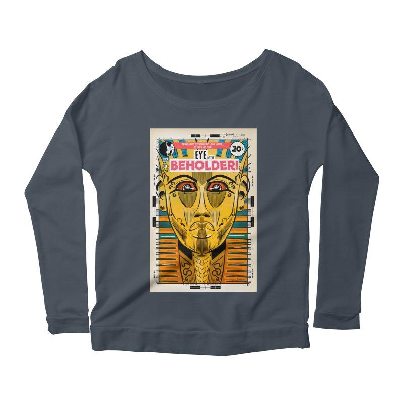 Beholder Women's Longsleeve T-Shirt by Krishna Designs