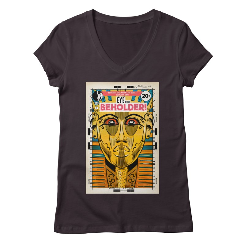Beholder Women's V-Neck by Krishna Designs