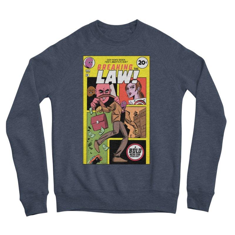 Breaking the Law Men's Sponge Fleece Sweatshirt by Krishna Designs