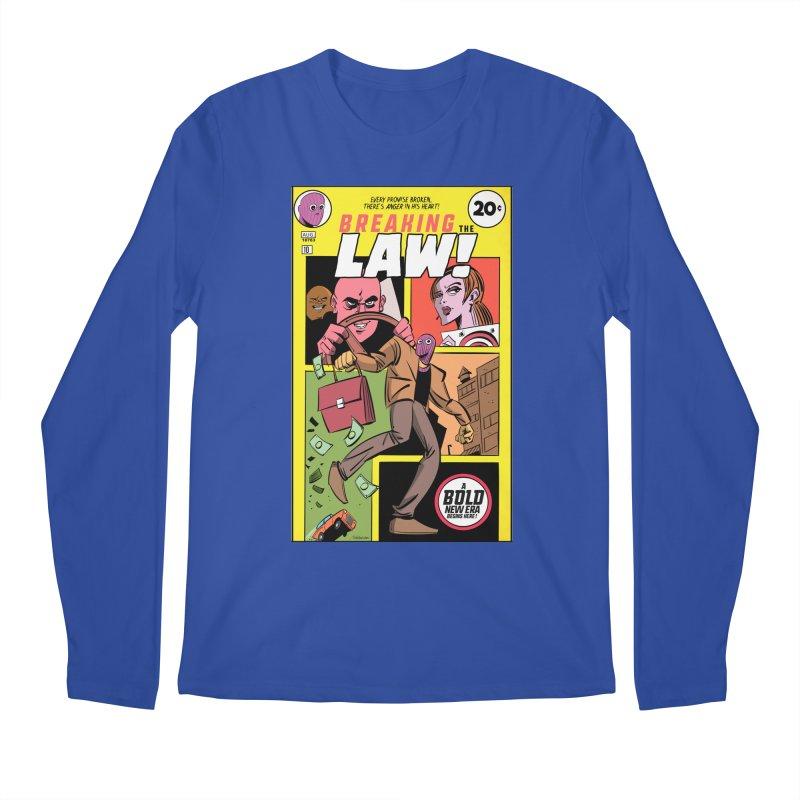 Breaking the Law Men's Regular Longsleeve T-Shirt by Krishna Designs
