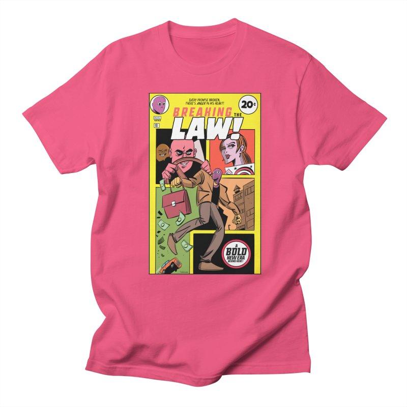 Breaking the Law Men's T-Shirt by Krishna Designs