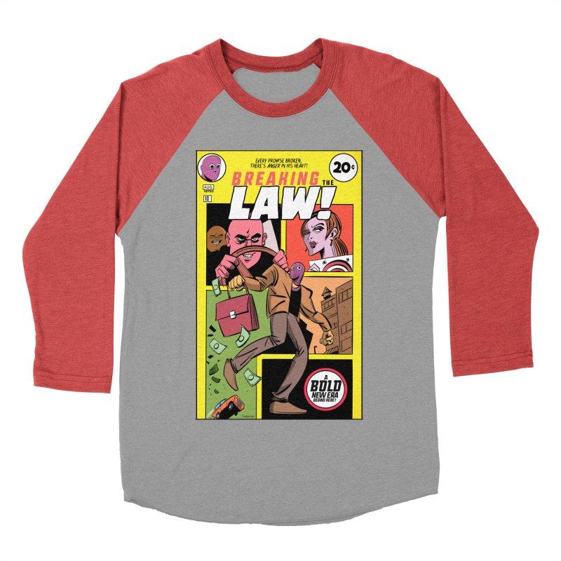 Breaking the Law Men's Longsleeve T-Shirt by Krishna Designs