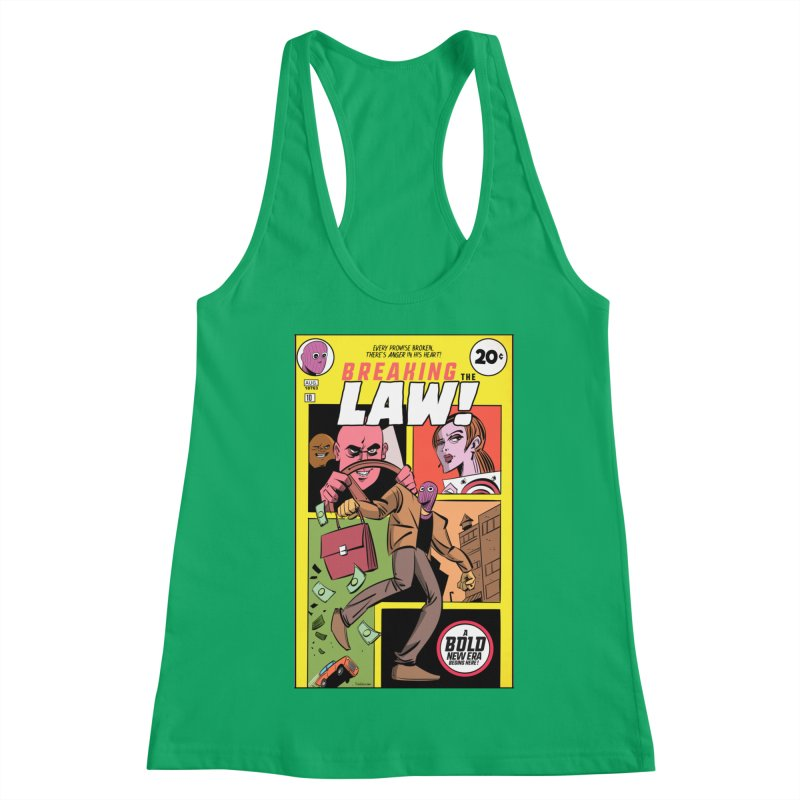 Breaking the Law Women's Tank by Krishna Designs