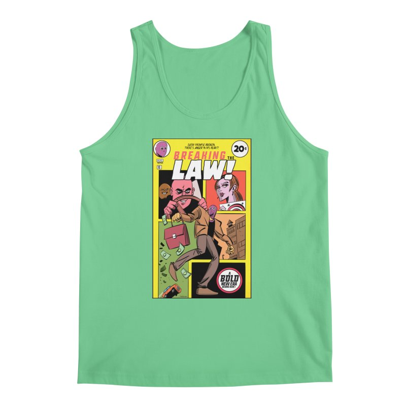 Breaking the Law Men's Regular Tank by Krishna Designs