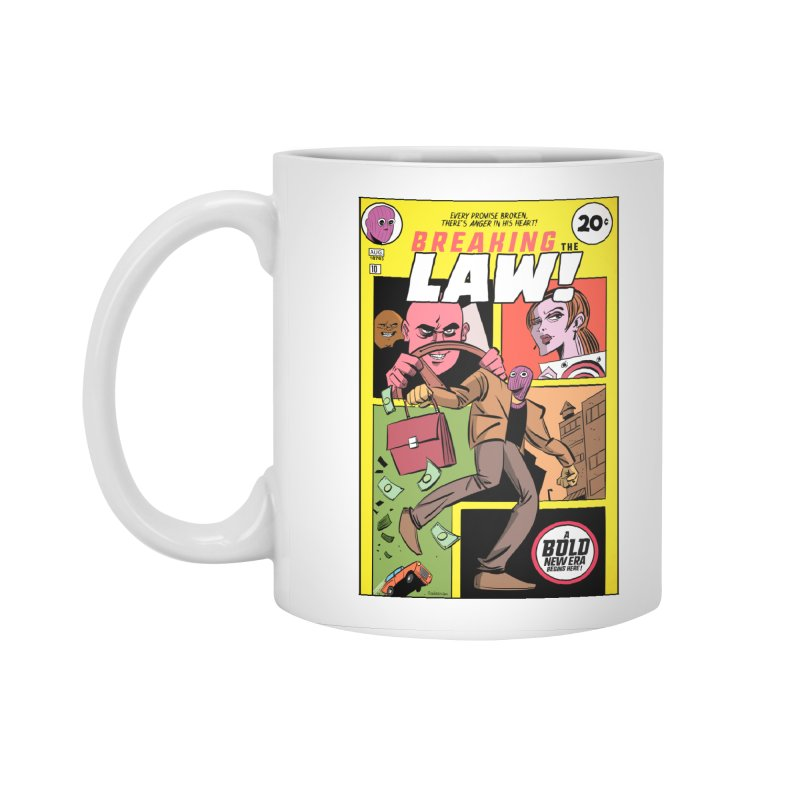 Breaking the Law Accessories Mug by Krishna Designs