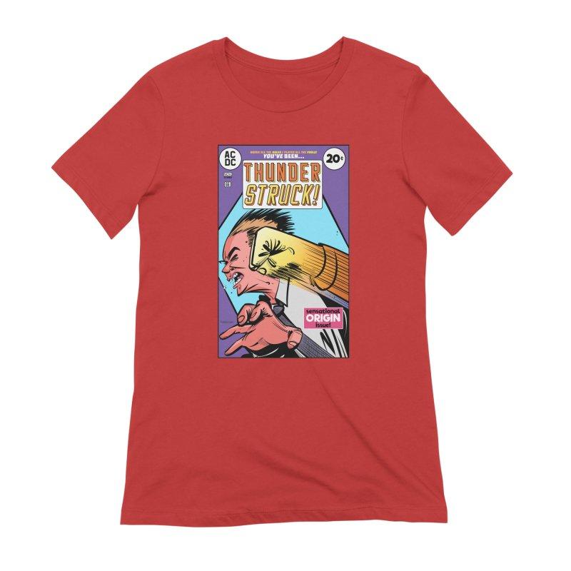 Thunder struck! Women's Extra Soft T-Shirt by Krishna Designs