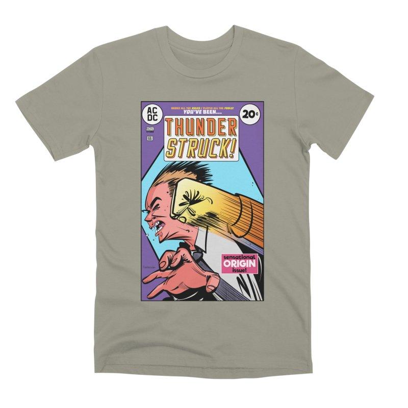 Thunder struck! Men's Premium T-Shirt by Krishna Designs