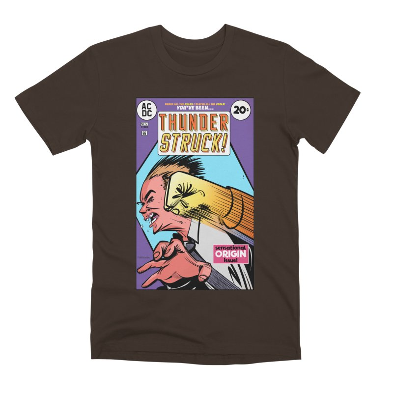 Thunder struck! Men's T-Shirt by Krishna Designs