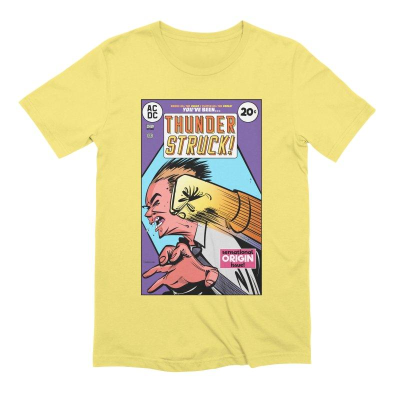 Thunder struck! Men's Extra Soft T-Shirt by Krishna Designs