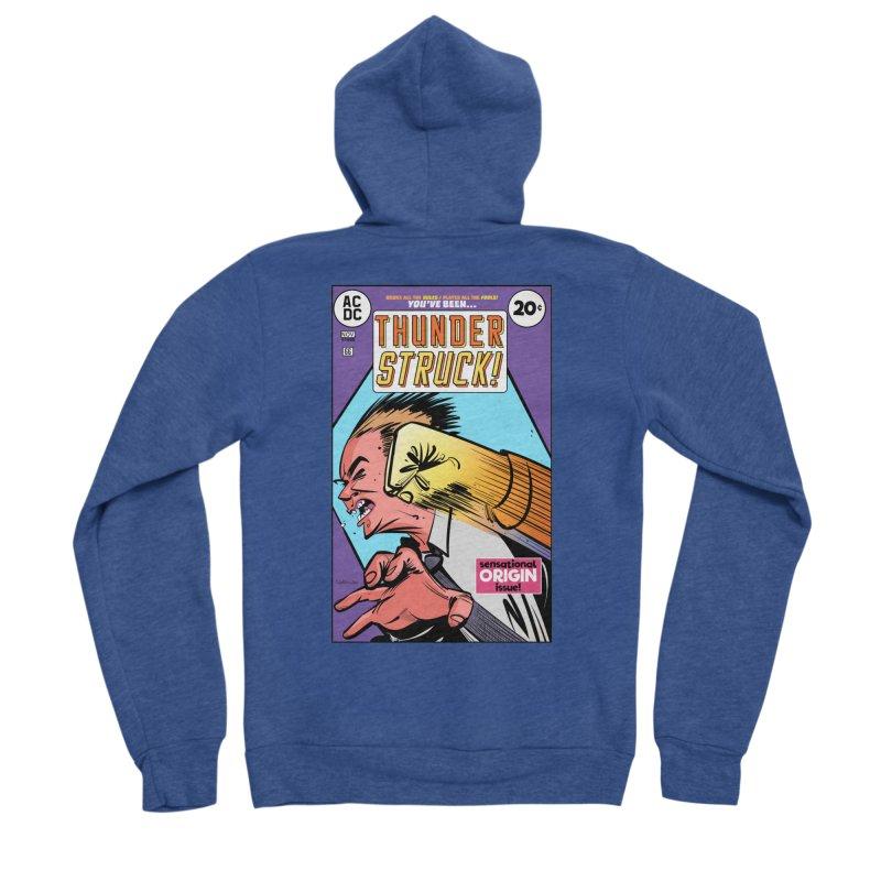 Thunder struck! Women's Sponge Fleece Zip-Up Hoody by Krishna Designs