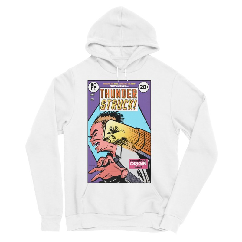 Thunder struck! Women's Sponge Fleece Pullover Hoody by Krishna Designs