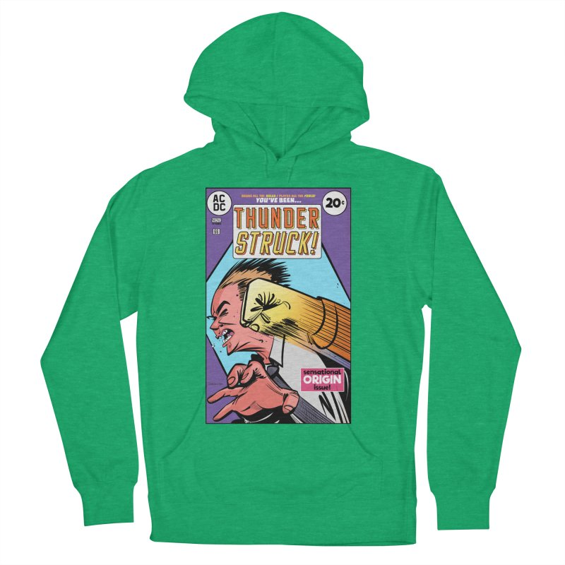 Thunder struck! Men's French Terry Pullover Hoody by Krishna Designs