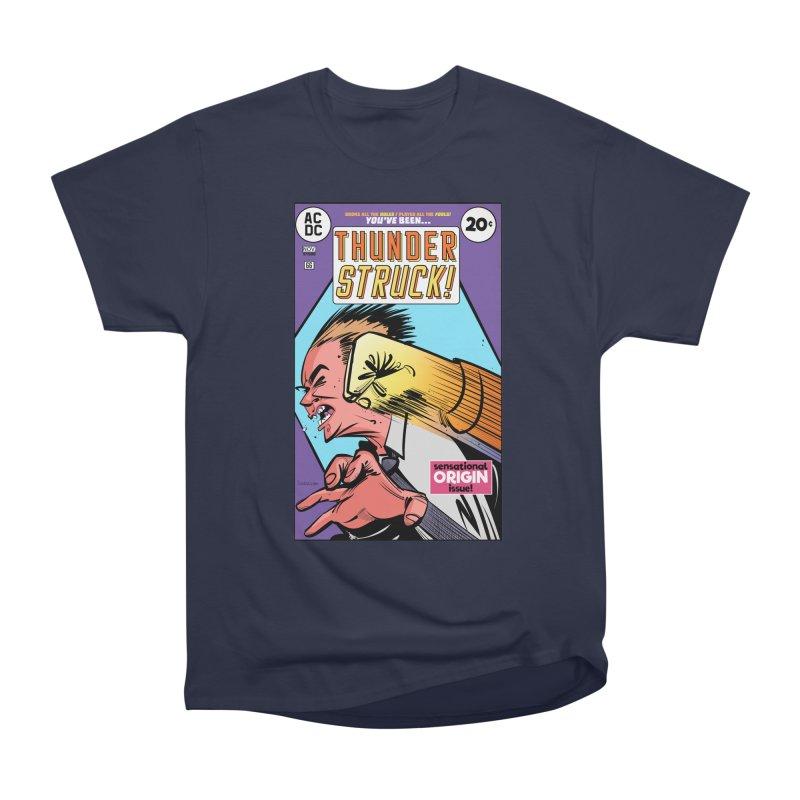 Thunder struck! Women's Heavyweight Unisex T-Shirt by Krishna Designs