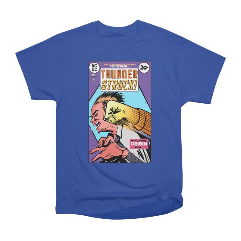 Thunder struck! Men's Heavyweight T-Shirt by Krishna Designs