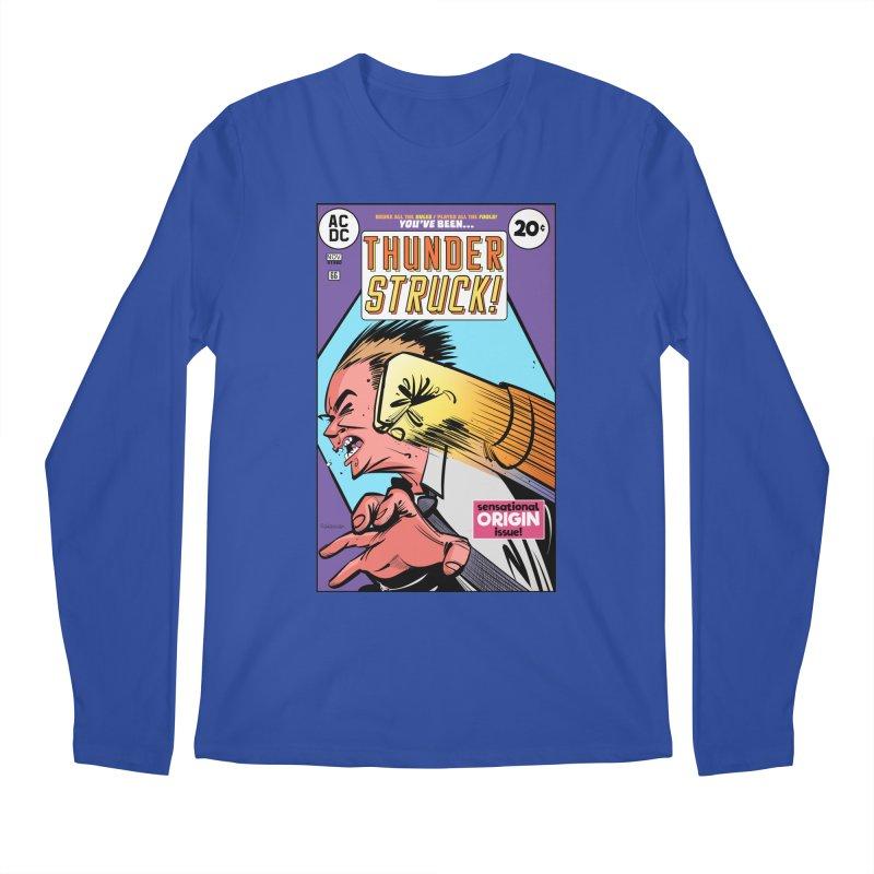 Thunder struck! Men's Regular Longsleeve T-Shirt by Krishna Designs