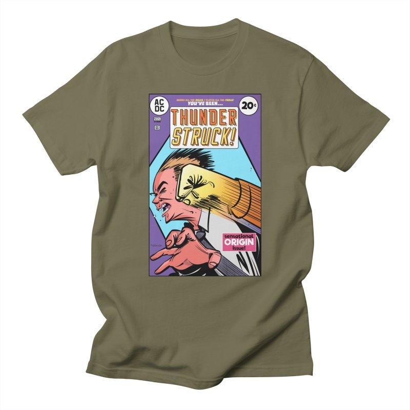 Thunder struck! Men's Regular T-Shirt by Krishna Designs