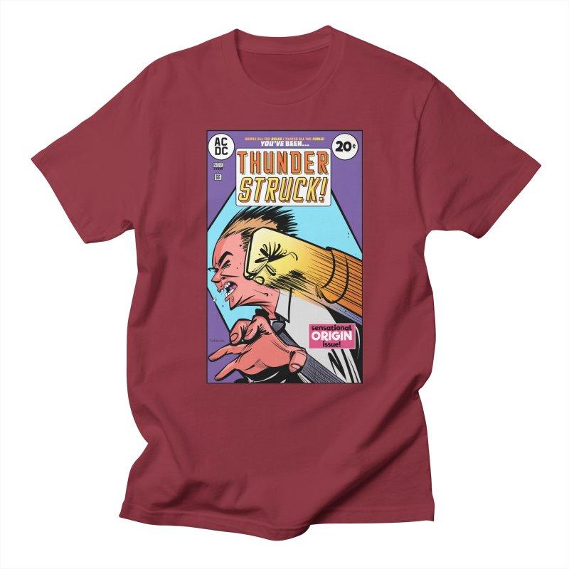 Thunder struck! Women's Regular Unisex T-Shirt by Krishna Designs