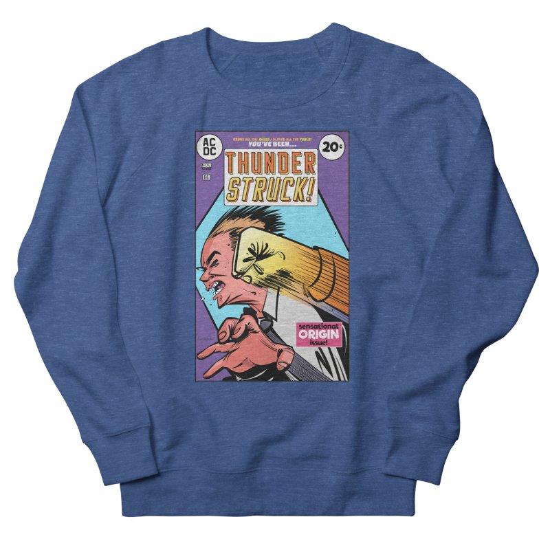 Thunder struck! Women's French Terry Sweatshirt by Krishna Designs