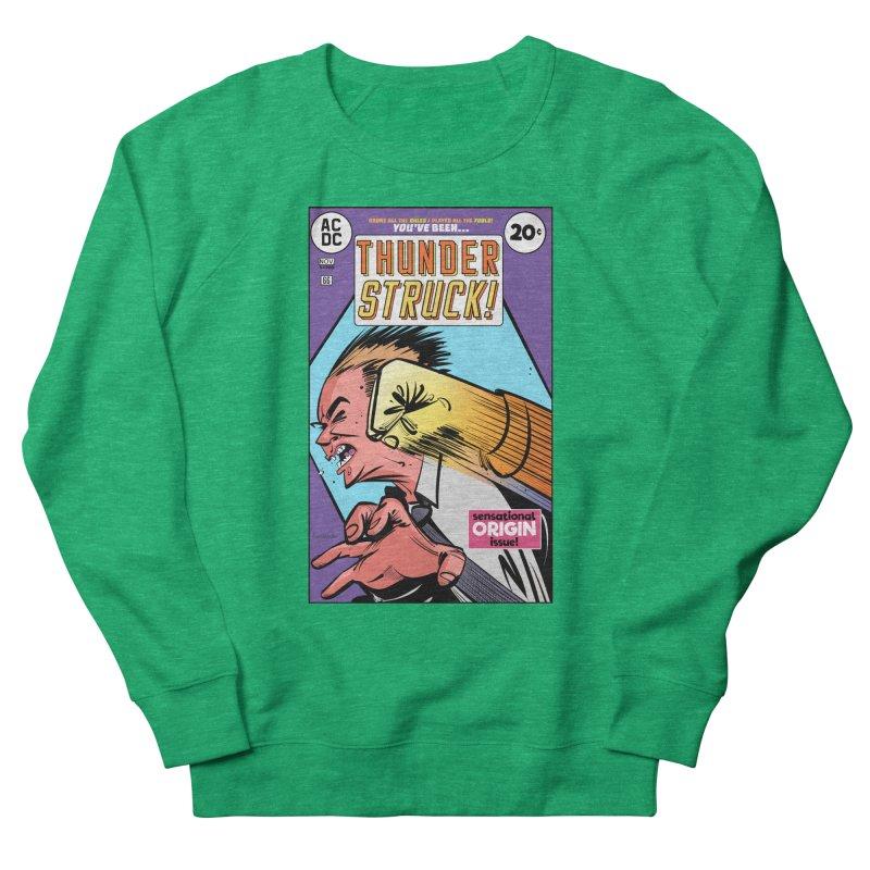 Thunder struck! Men's French Terry Sweatshirt by Krishna Designs