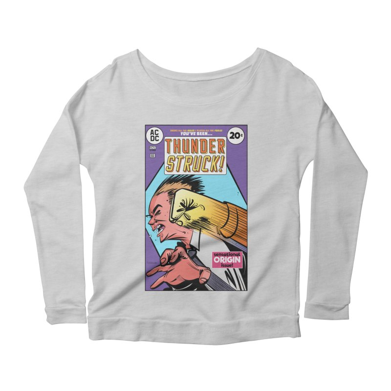 Thunder struck! Women's Longsleeve T-Shirt by Krishna Designs